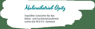 Malerbetrieb Opitz Logo