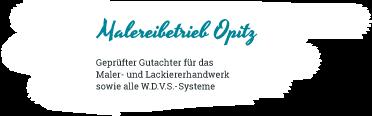 Malermeister Opitz Logo