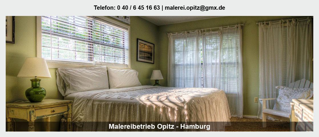Malerbetrieb in Oststeinbek - Malereibetrieb Opitz: Maler- und Tapezierarbeiten, Wandbeschichtungen